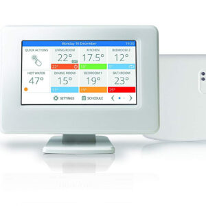 Evohome interfaccia touchscreen